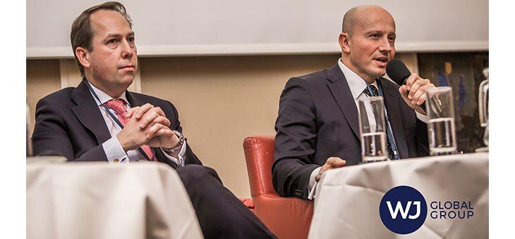 """Мартин Паев, Председател на СОРТИС Груп, презентира пред Форум """"Дълг и преструктуриране"""" във Виена"""