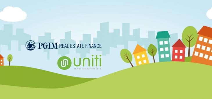 Френският строител на социални домове Groupe UNITI получи финансиране от американския инвеститор в недвижими имоти PGIM Real Estate