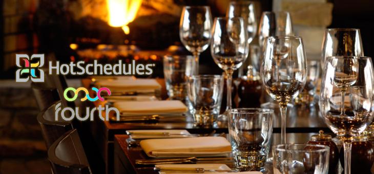 Fourth и Hotschedules се сляха, за да се превърнат във водещ световен доставчик на технологични решения за управление на хотели и ресторанти
